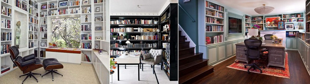 Дизайн домашней библиотеки