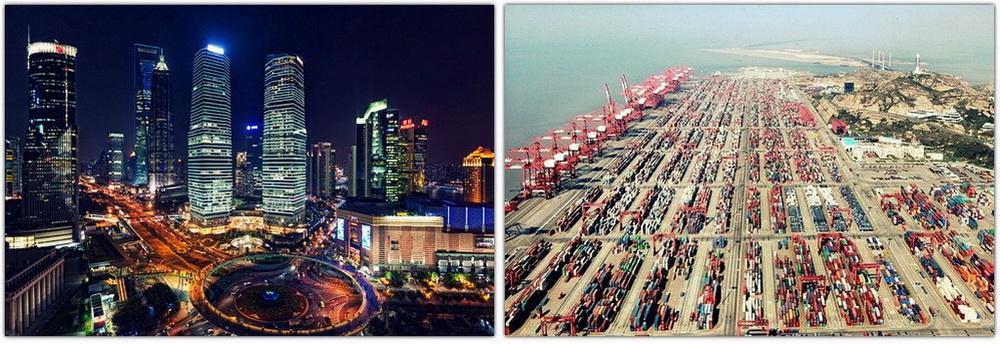 Шанхай – торгово-финансовый центр Китая