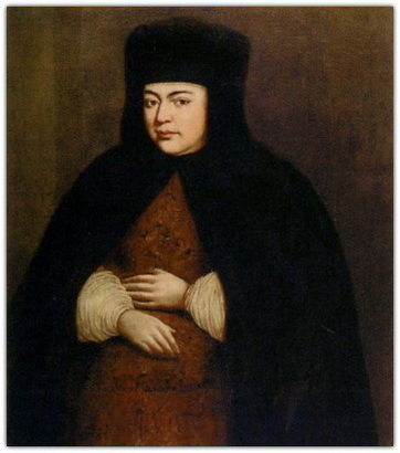 Нарышкина Наталья Кирилловна, царица - жена царя Алексея Михайловича (Тишайшего)