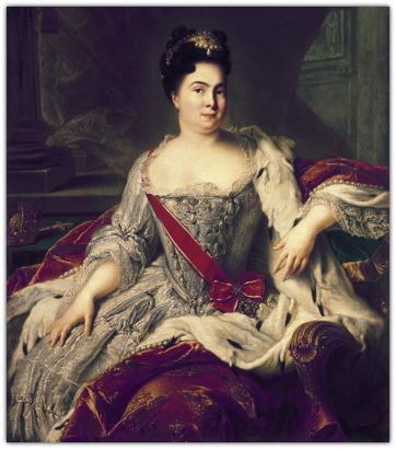 Первая Императрица России Екатерина I (Марта Скавронская)