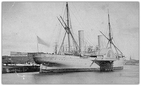 3360-тонный пароход Вандербильта