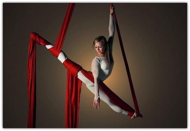 Занятия воздушной гимнастикой