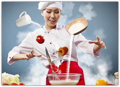 Обучение в кулинарной школе