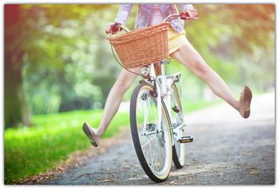 Польза от езды на велосипеде для здоровья