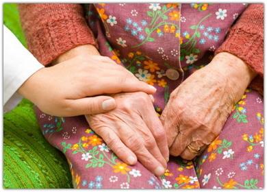 Как помочь старому человеку