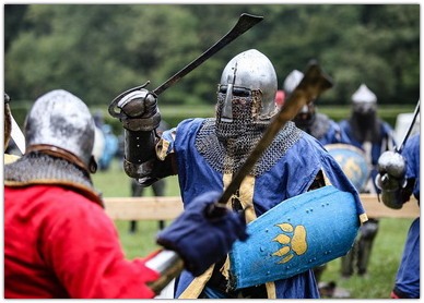 реконструкция рыцарских турниров