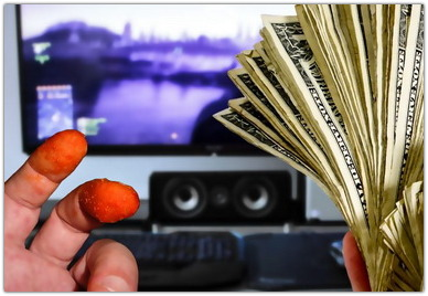 как зарабатывать деньги на играх