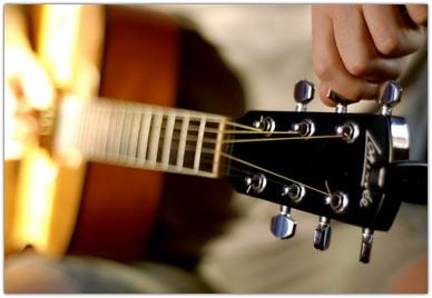 Как правильно настраивать акустическую гитару
