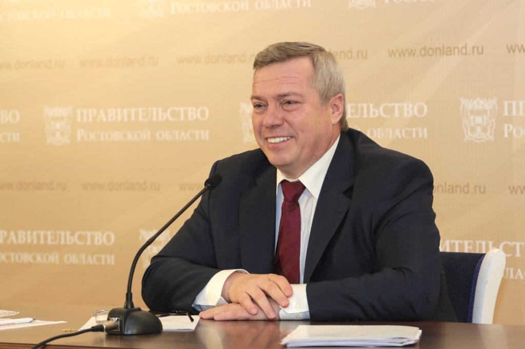 Губернатор Ростовской области Голубев