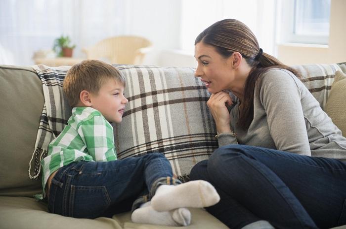 Спрашивать совет у ребенка